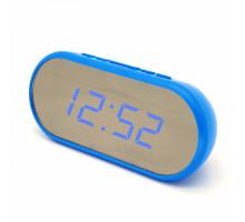 Часы настольные VST712Y-5 синие цифры