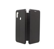Чехол-книжка Samsung A11/M11, вбок, black, FASHION CASE