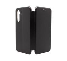 Чехол-книжка Realme 6 Pro, вбок, black, FASHION CASE