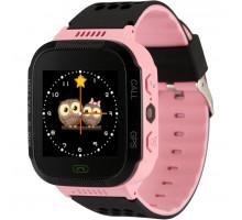 Часы детские F1, с GPS трекером, pink