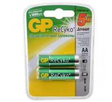 Аккумулятор GP R06 AA 2100mAh Ni-Cd ReCyko+, BL2, 2 шт в блистере