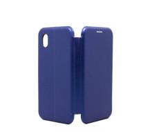 Чехол-книжка Samsung A01 CORE, вбок, blue, FASHION CASE