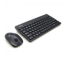Комплект беспроводной клавиатура + мышь Smartbuy 220349AG черный (SBC-220349AG-K)