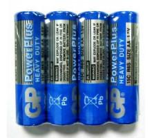 Батарейки GP R06 AA 4SR, 4 шт в термопленке, PowerPlus