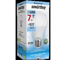 Светодиодная (LED) Лампа Smartbuy-A60-07W/4000/E27 (SBL-A60-07-40K-E27-N)