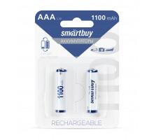 Аккумулятор Smartbuy R03 AAA 1100mAh Ni-Mh 2 шт в блистере (SBBR-3A02BL1100)