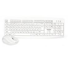 Комплект беспроводной клавиатура + мышь Smartbuy ONE 212332AG белый (SBC-212332AG-W)
