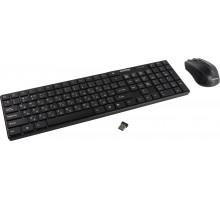 Комплект беспроводной клавиатура+мышь Smartbuy ONE 229352AG черный (SBC-229352AG-K)