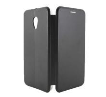 Чехол-книжка Meizu MX6, black, BM CASE