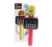 Микрофон BT, с колонкой, HANDHELD KTV K-316, red
