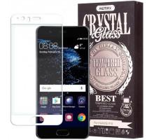 Защитное стекло 2,5D Huawei Mate 9 pro, white, REMAX Crystal,+ чехол