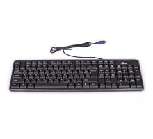 Клавиатура Ritmix RKB-103, USB, черная