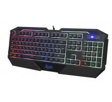 Клавиатура игровая Smartbuy RUSH 304 USB мультимедийная черная с подсветкой (SBK-304GU-K)