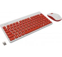 Комплект беспроводной клавиатура + мышь Smartbuy 220349AG красно-белый (SBC-220349AG-RW)