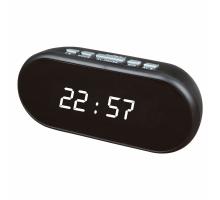 Часы настольные VST712-6 белые цифры