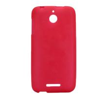 Чехол-накладка HTC Desire 510, силиконовый, матовый, red