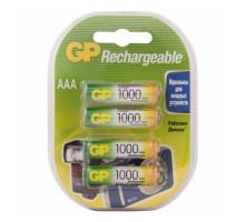Аккумулятор GP R03 AAA 1000mAh Ni-Mh, BL4, 4шт в блистере, пластик