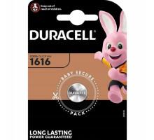 Батарейки Duracell CR1616, BL1, 1 шт в блистере