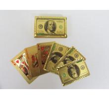 Карты игральные пластиковые Poker(P-006 Dollar)(54листа)(str)