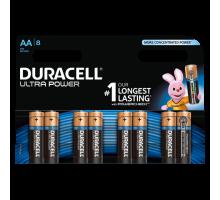 Батарейки Duracell LR06 AA UltraPower BL8, 8 шт в блистере