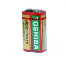Батарейки Toshiba 6F22 1604G Крона, 1SR,1 шт в термопленке