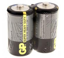 Батарейки GP R14 2SR, 2 шт в термопленке