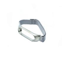 Ремешок MI Band 3/4 milanes с магнитом, серебряный