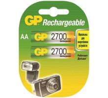 Аккумулятор GP R06 AA 2700mAh Ni-Mh, BL2, 2 шт в блистере пластик