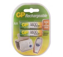 Аккумулятор GP R06 AA 1800mAh Ni-Mh, BL2, 2 шт в блистере Пластик