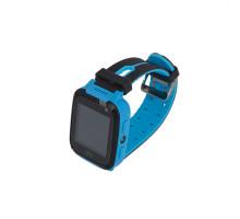Часы детские S4, с GPS трекером, чёрно-синие