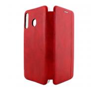 Чехол-книжка Samsung M30, вбок, red