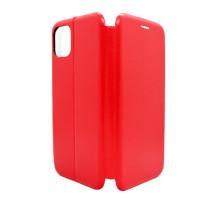 Чeхол-книжка iPhone XI Pro Max, вбок, red, FASHION CASE