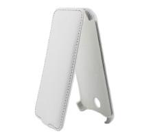 Чехол-книжка вниз HTC Desire 300, кож.зам, white