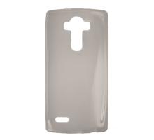 Чехол-накладка LG G4, силиконовый, затемненный