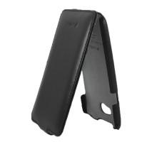 Чехол-книжка HTC One X, Leather Case Jacka Type, кожа, black, SOTOMORE
