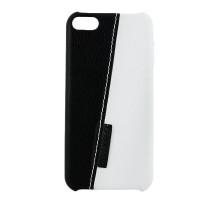 Чехол-накладка iPod Touch 5, white-black, SOTOMORE