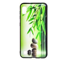 Чехол - накладка для Xiaomi Redmi 7 - пластиковый матовый  - Бамбук (цвет зелёный, в пакете)