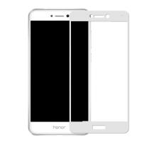 Защитное стекло 3D Honor 8 Lite, white, в тех.упаковке