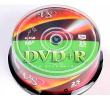 DVD+R VS 4.7 Gb 16x Cake Box/25 Ink.Print