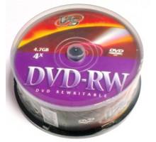 DVD-RW VS 4.7 Gb 4x Cake Box/25