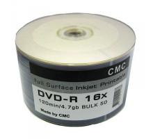 DVD+R CMC 4.7 Gb 16x (50 Bulk)
