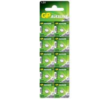 Батарейки GP AG04 LR626 LR66 177 377 GP77A, BL10, 10 шт в блистере