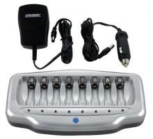 Зарядное Vanson V-6280 1-8AA/AAA от сети и в автоприкуриватель