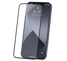 Защитное стекло 3D iPhone 12 mini, чёрное, BOROFONE, полное покрытие