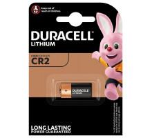 Батарейки Duracell CR2, BL1, 1 шт в блистере