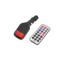 FM модулятор FM-04, USB, чёрный