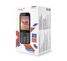 Мобильный телефон teXet TM-302 цвет черный