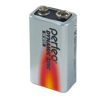 Батарейки Perfeo 6F22 1604G Крона, 1604S 1 шт в термопленке